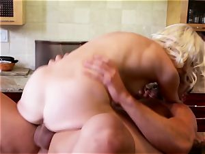 puny bitch Chloe gets her pink sock jammed