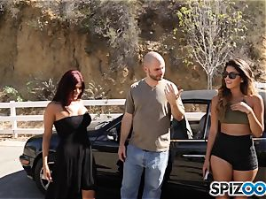 rod longing pick up with Sophia Leone and Gina Valentina