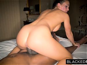 BLACKEDRAW Abigail Mac's spouse Sets Her Up With largest bbc In The World