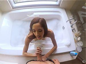 Chloe Amour nailed after a bathtub