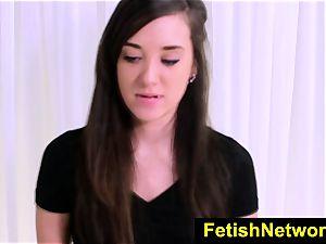 FetishNetwork Gia Paige harsh casting
