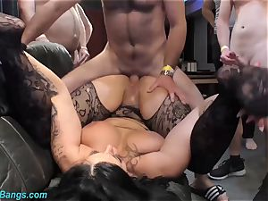 crazy bang-out with buxom milf Ashley jism star