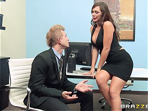 Bad assistant destiny Dixon fucking an interviewee