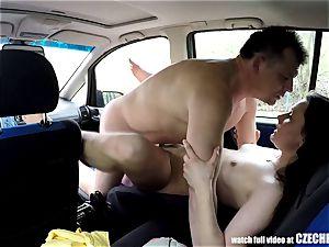 Sheriff Mirek Buying Street escort for booty licking