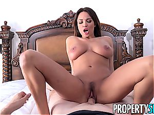 PropertySex French stunner Anissa Kate ravages Homeowner