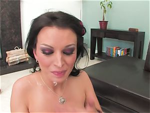 Bailey Brooks gets pulverized firm and glazed in jism