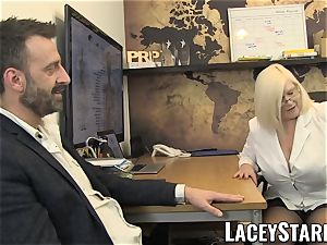 LACEYSTARR - GILF munches Pascal white jizz after fuck-fest