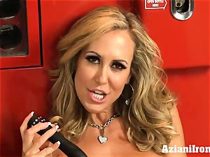 ripped up Brandi love peels off and drains
