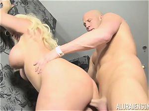 blond milf Alura Jenson determines to cheat on her husband
