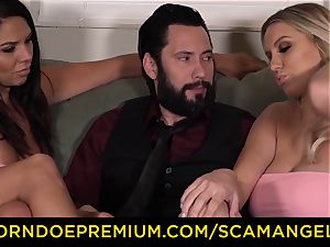 SCAM ANGELS - Boobylicious mummy honeys plumbs rich boy