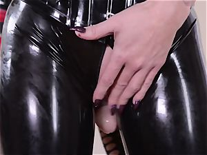 strict housewife with phat trouser snake smashes her servant spandex Lucy