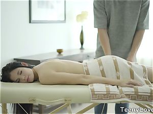 Teeny paramours - massage with something additional