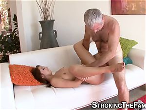 nubile rides older stepfather