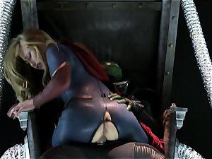 Supergirl Pt 1 Carter Cruise gets a heros fuckin'