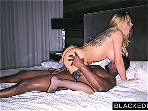 ginormous boobed silly housewife gets slain by a thick black cumbot