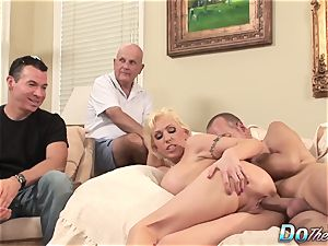 hubby witnesses wifey Kasey Grant buggered