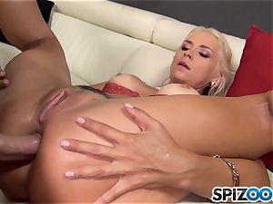 insane light-haired Sarah Vandella porked in her pussy pie
