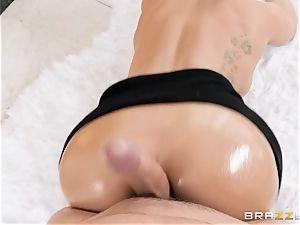 Cali Carter taking it rock-hard in her bootie