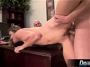 super hot wifey Daisy Layne nails and munches spunk