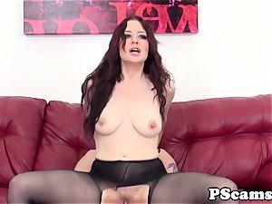 sandy-haired web cam stunner Jessica Ryan pussyfucked