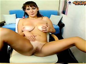 Donna web cam jerking on 42cam