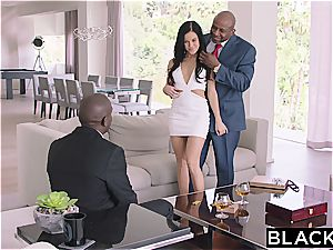 Megan Rain gets DP'd by 2 BBC's