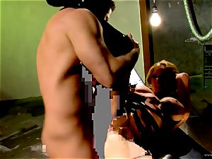Shyla Stylez takes this rock-hard manhood deep in her taut bootie