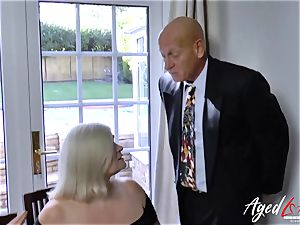 AgedLovE Lacey Starr and Paul hardcore action