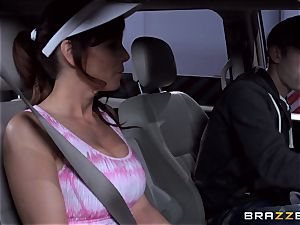 uber-sexy stepmom Syren Demer boinks her stepsons large pecker