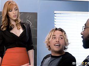 Tyler bangs his hot ginger cougar lecturer Lauren Philips