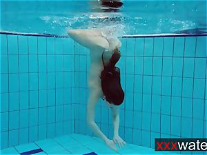 bubble culo underwater Katrin
