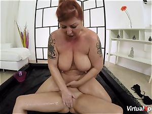 lush lezzy nuru massage with Lucia