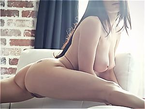young adult movie star Lana Rhoades is outstanding