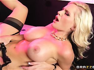 Vanessa cage and Alena Croft uber-sexy show babes