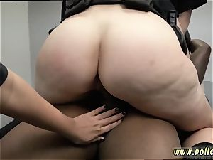 milky tourist and black desire chick first-ever time milf Cops