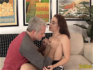 grandmother Sable Renae pounded with fat manstick
