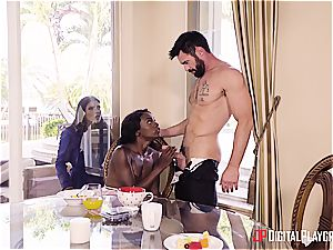 Charles Dera and Ana Foxxx firm humping session
