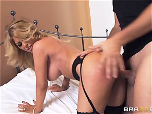 Kayla Kayden gets the hot orgy she well deserved