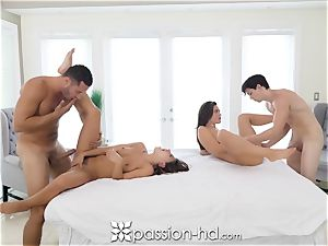 PASSION-HD greatest four way with Adriana Chechik