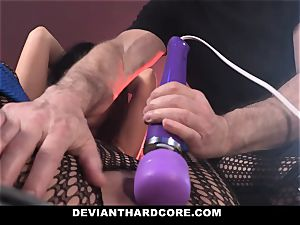 DeviantHardcore mischievous asian Gets taut coochie flagellating