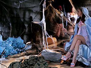 pixie godmother Julia Ann grants a pricks dream