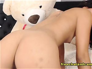 seductive black-haired blessed Time Live On webcam