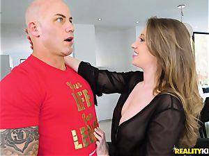 Harley Jade takes suspended Derrick for a ride