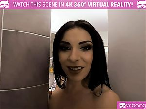 VR porn - Got Caught While Spying on my Stepsister