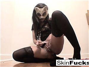 very super-naughty pussy have fun with flesh Diamond