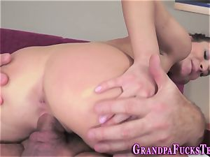 tiny nubile gets porked