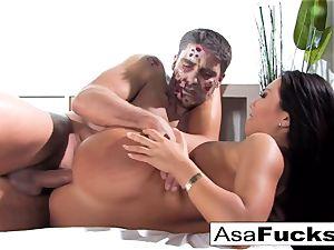 Asa's Zombie buttfuck internal ejaculation