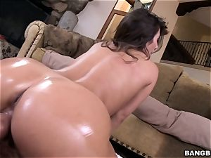 sweeping scorching chick Eva Lovia ravaged in her raw beaver