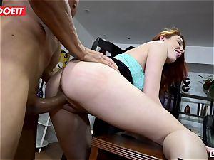 LETSDOEIT - hotties seduce and Scam their pervert boss