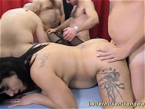 first-timer gangbang screw intercourse